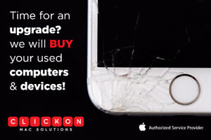 SELLING YOUR PHONE OR MAC? WE'LL BUY IT HASSLE FREE