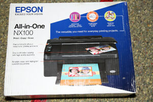 All in one Epson Colour / Photo printer New in Box.