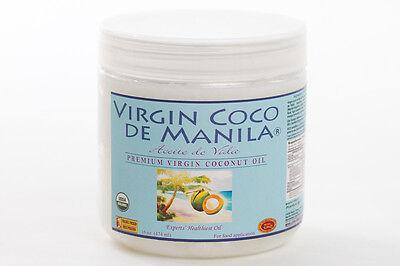 Organic 100% Virgin Coconut Oil Manila Coco Clean Fresh DENTAL PULLING WASH 16oz