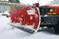 SNOW PLOWING / ICE & SALT MANAGEMENT / COMMERCIAL & RESIDENTIAL