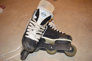 boy's roller blades for sale- good condition