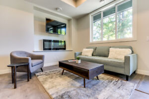 Contemporary  2 & 3 bed/3 bath  T/H Unfurnished