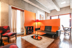 2 bedroom unit furnished downtown Montreal