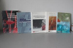 BAISSE DE PRIX!! 5 volumes en sciences infirmières