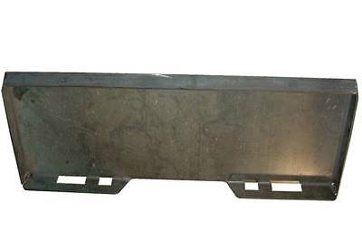 Skid Steer Universal Attachment Plate Fits Most Skid Loadersweld On Blank