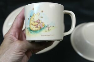 3 Piece Pooh Bear Plastic Dinnerware Set The Walt Disney Company Kingston Kingston Area image 5