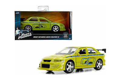 JADA Fast And Furious Brian's Mitsubishi Lancer Evolution VII 1:32 Diecast Car