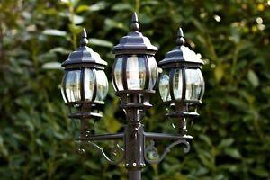 Cand labre classique lanterne 3 branches lampadaire ext rieur luminaire 372 - Lampadaire exterieur a vendre ...