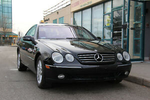 2002 Mercedes-Benz CL-Class - Accident Free - One Owner - 302 HP
