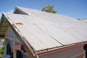 Reclaimed corrugated iron old roof sheets South Yarra Stonnington Area Preview