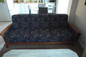 Couch, Chair and Ottoman - Great Condition!