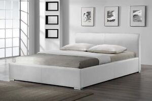Leather Bed Gas Lift Bed from $160 Kingsgrove Canterbury Area Preview