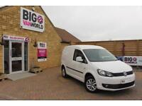 2015 VOLKSWAGEN CADDY C20 TDI 102 HIGHLINE PANEL VAN DIESEL