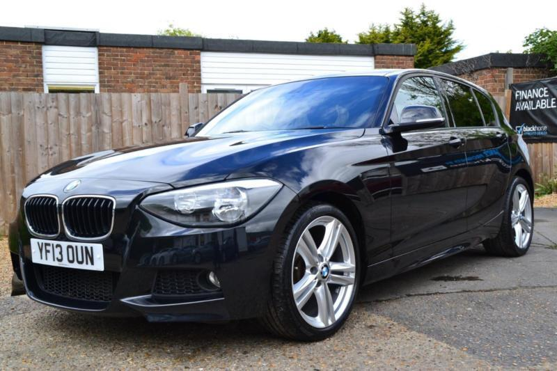 2013 BMW 1 SERIES 118D M SPORT 5 DOOR BLACK AUTOMATIC HATCHBACK ...