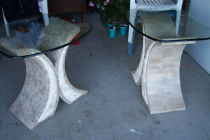 Elegant  3 Piece Coffee Table set