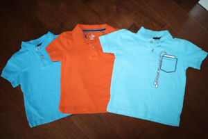 3 Childrens Place Golf Shirts - 4T
