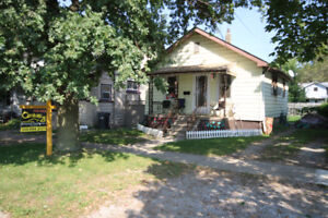 2 bedrooms one bath and full basement for $100,000