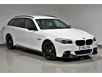 2012 BMW 520D M-SPORT TOURING ALPINE WHITE- AUTOMATIC-FSH- 2 KEYS - PX -WARRANTY