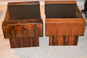 GORGEOUS Solid Cherry Wood End Tables