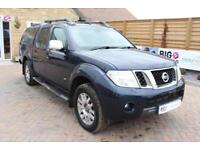 2014 NISSAN NAVARA OUTLAW V6 DCI 231 4X4 DOUBLE CAB WITH TRUCKMAN TOP PICK UP DI