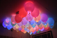 LED BALLOONS WEDDING SPECIAL