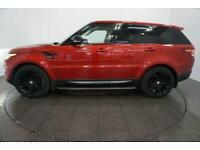 2013 RED RANGE ROVER SPORT 3.0 SDV6 HSE DYNAMIC CAR FINANCE FR £418 PCM
