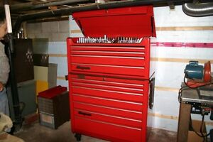 Snap-on toolbox and tools for Car Mechanics