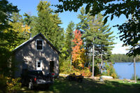 Lakeside cottage for sale