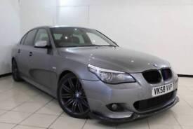 2008 58 BMW 5 SERIES 3.0 530D M SPORT 4DR AUTOMATIC 232 BHP DIESEL