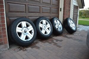 6 bolt Chevy OEM rims and tires off of Silverado 1500, 275 55 R