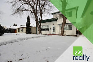 Distinctly unique, modern two-storey in Central Edmonton!