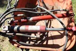 Three Hydraulic Cylinders and Hose London Ontario image 1