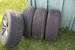 18 in rims and snow tires for infinty g37 car Kitchener / Waterloo Kitchener Area image 1
