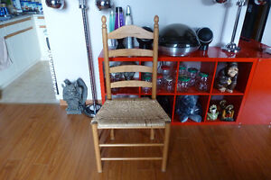 Pine table 4 chairs for your cottage