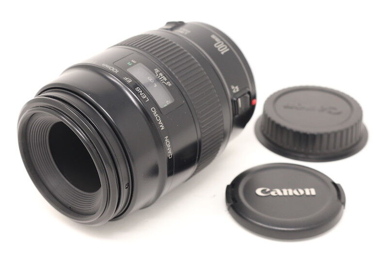 [NEAR MINT+++] Canon EF 100mm F/2.8 Macro Lens from Japan #680044