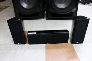 **TURN IT UP** Pure Acoustics Noble C&S Surround Speakers -16813