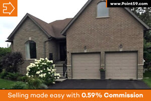 Gorgeous Custom-built Home With Deeded Dock & Access to Lake Ont