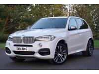 2014 BMW X5 3.0 M50d SUV 5dr Diesel Automatic 4x4 (start/stop) (177 g/km,