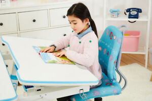 Children's Ergonomic Height Adjustable Study Desk & Chair Sets!