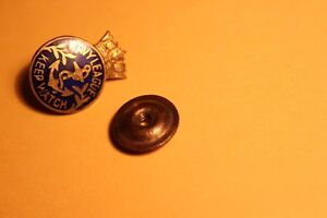 W.W. 1 Navy League Keep Watch Early 1900s PIN (VIEW OTHER ADS)