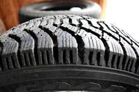 4 Pneus Hiver/Winter Tires Goodyear Nordic TRÈS BON ÉTAT!!!