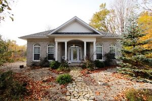SOLD!! STUNNING COUNTRY BUNGALOW! 2 ACRES, CLOSE TO TOWN