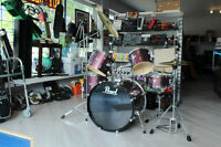 ***LIKE NEW*** Pearl 7pc Drum Kit
