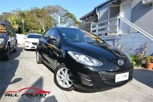 2011 Mazda 2 DE MY11 Neo Black 4 Speed Automatic Hatchback Tweed Heads Tweed Heads Area Preview