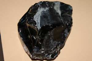 Obsidian Carving Stone 10.5 Pounds