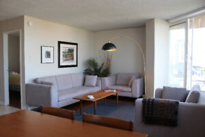 Furnished Downtown 1Bdr Penthouse For Rent! Parking Inc! January