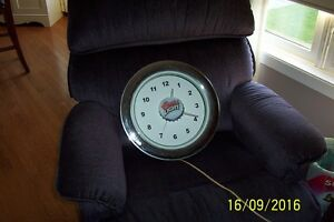 Original Coors Light Clock with neon light