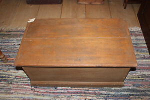 Old Blanket Box In Taupe Paint London Ontario image 2