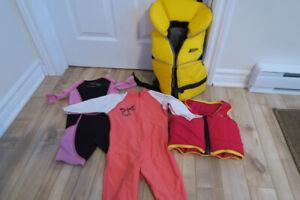 VFI MEC, maillot une pièce MEC 18 mois, wet suit