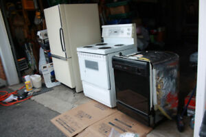 Kenmore Fridge, Stove and Dishwasher Appliances